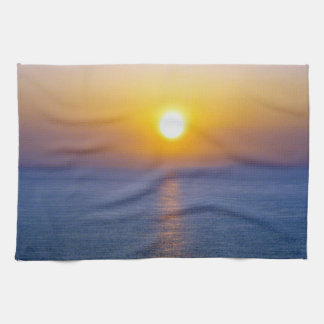 North Devon Hartland Volcanic Cloud Sunset  .3. Towel