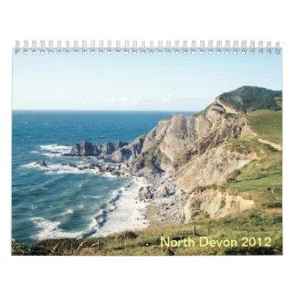 North Devon Seascapes calendar 2012