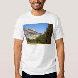 North Dome April Yosemite California Products T-shirts