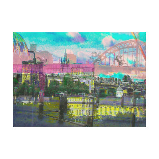 North East in the pink Canvas Print