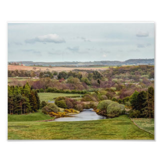 North East  The Derwent reservoir Photographic Print
