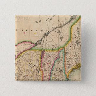 North east United States 43 15 Cm Square Badge