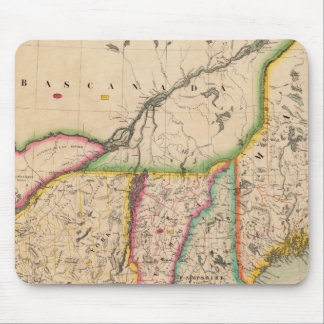North east United States 43 Mouse Mat