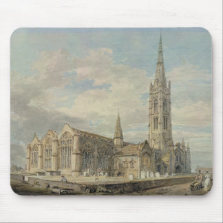 North-east View of Grantham Church, Lincolnshire, Mouse Mat