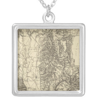 North Eastern Utah and South Eastern Idaho Silver Plated Necklace