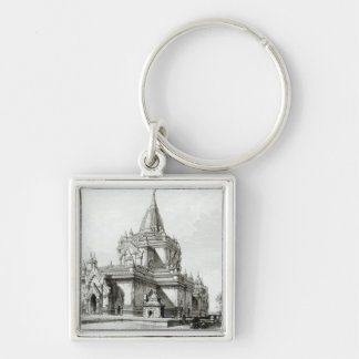 North Eastern view of Gaudapalen Temple at Pagan Key Ring
