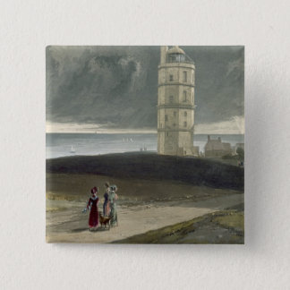 North Foreland Lighthouse, from 'A Voyage Around G 15 Cm Square Badge