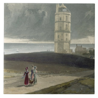 North Foreland Lighthouse, from 'A Voyage Around G Tile