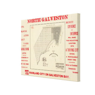 North Galveston Canvas Print