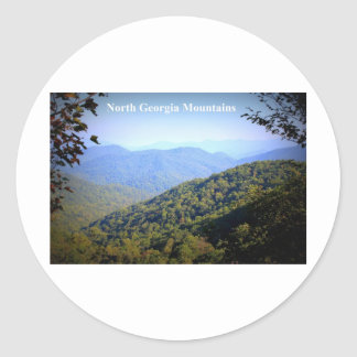 NORTH GEORGIA MOUNTAINS STICKER