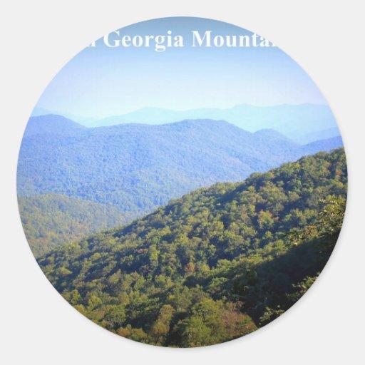NORTH GEORGIA MOUNTAINS STICKERS