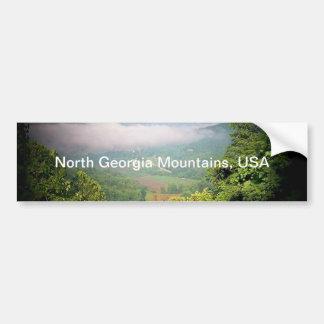 North Georgia Mountains, USA Bumper Sticker
