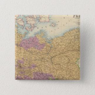 North German Confederation and Prussia 15 Cm Square Badge