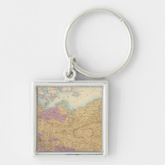 North German Confederation and Prussia Key Ring