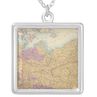 North German Confederation and Prussia Silver Plated Necklace