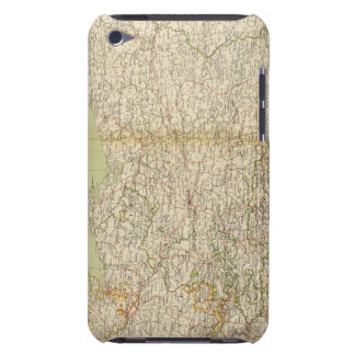 North Germany Atlas Map Barely There iPod Case