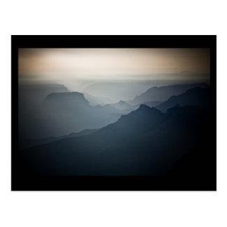 North Grand Canyon Sunrise Haze Postcard