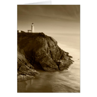 North Head Lighthouse | Fort Canby State Park, WA Card