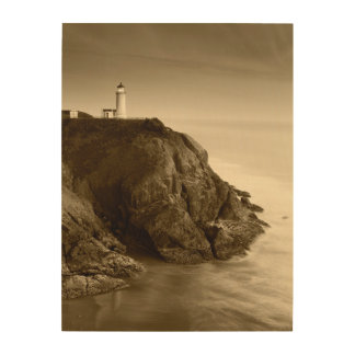 North Head Lighthouse | Fort Canby State Park, WA Wood Print
