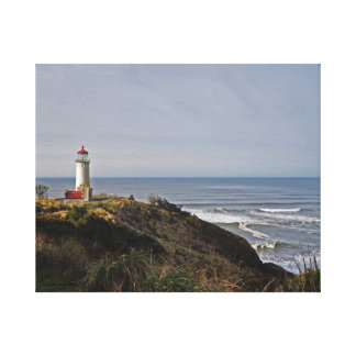 North Head Lighthouse on Longbeach, WA Canvas Print