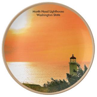 North Head Lighthouse,Washington Plate