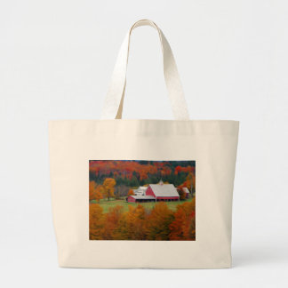 North Hollow Farm, Vermont Large Tote Bag