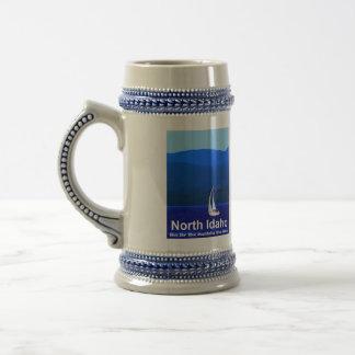North Idaho Blue Beer Stein