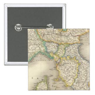 North Italy 15 Cm Square Badge