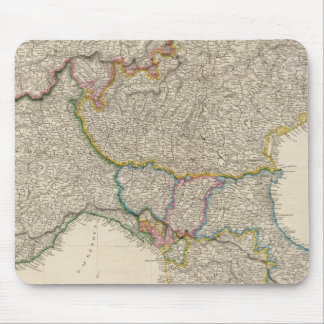 North Italy with Sardinia Mouse Mat