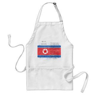 North Korea - 애국가 Standard Apron