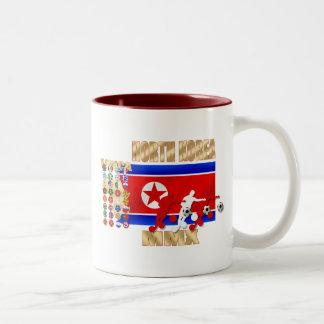 North Korea 32 qualifying country flag gifts Two-Tone Mug