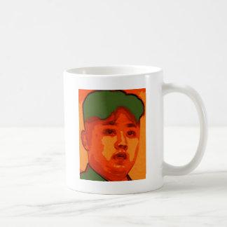 North Korea Basic White Mug