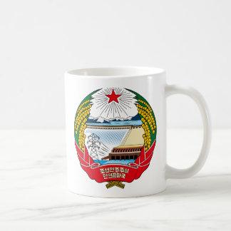North Korea Coat of Arms detail Coffee Mug