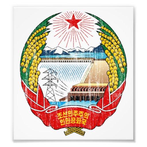 North Korea Coat Of Arms Photo