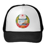 North Korea Coat Of Arms Trucker Hats