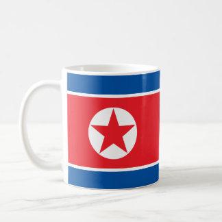 North Korea Flag Basic White Mug