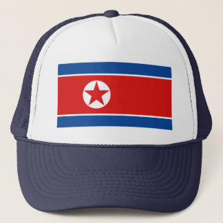 North Korea Flag Hat