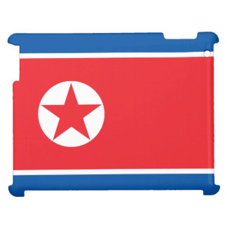North Korea Flag iPad Cases