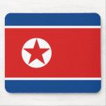 North Korea Flag Mousepad