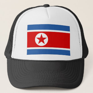 North Korea Flag Trucker Hat