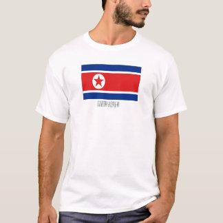 North Korea flag tshirt