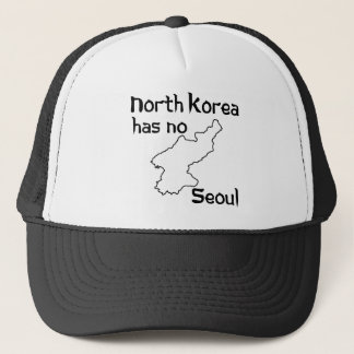 North Korea Has No Seoul Trucker Hat