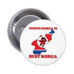 North Korea is Best Korea Badges