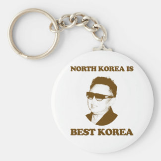 North Korea is best Korea Key Ring