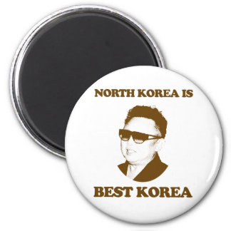 North Korea is best Korea Fridge Magnet