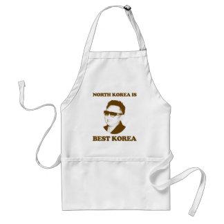 North Korea is best Korea Standard Apron