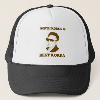 North Korea is best Korea Trucker Hat