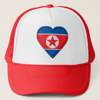 North Korea Korean flag Trucker Hat