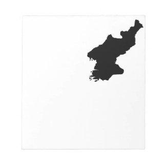 North Korea Notepad