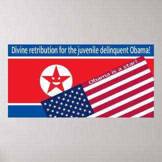 North Korea ranting Print